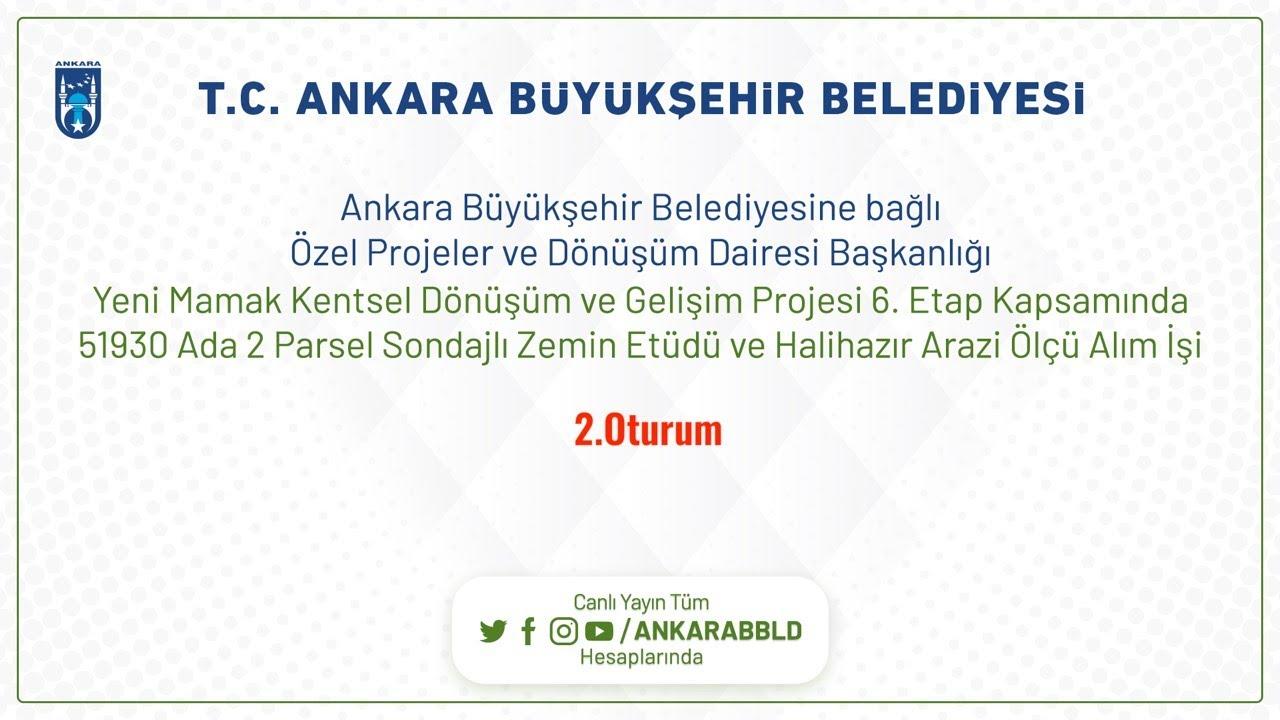 Özel Projeler ve Dönüşüm Dairesi Başkanlığı  Yeni Mamak Kentsel Dönüşüm ve Gelişim Projesi 6.Etap Ka