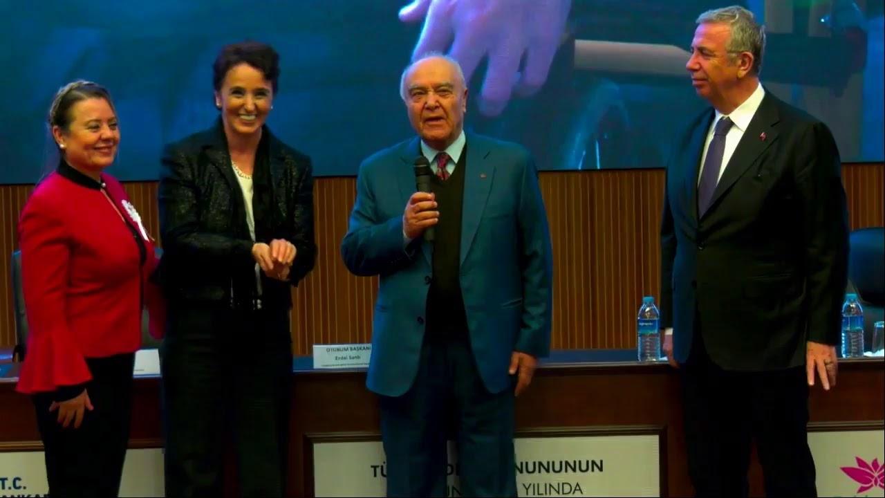 """Başkan Yavaş, """"Türk Medeni Kanununun Kabulünün 94. Yılında Kadın ve Çocuk"""" Konulu Panelde Konuşuyor"""