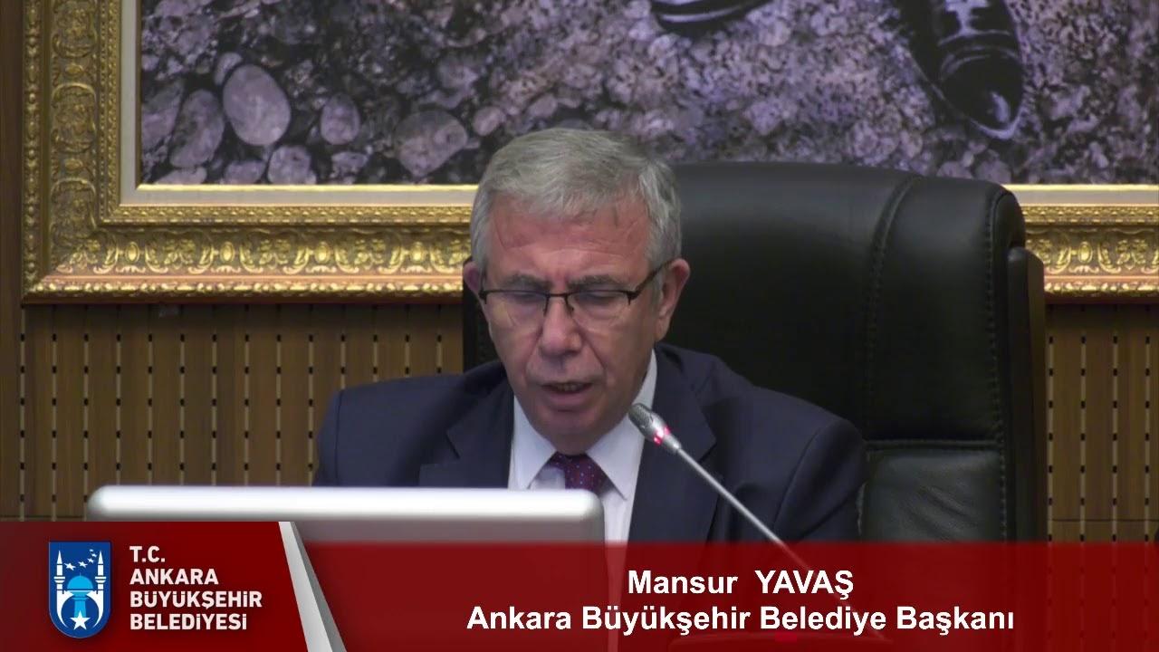Ankara Büyükşehir Belediyesi Temmuz Ayı Meclis Toplantısı 4. Oturum