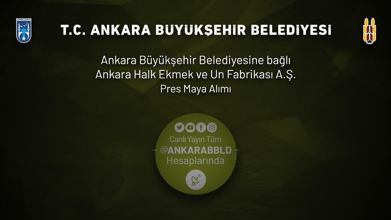 Ankara Halk Ekmek ve Un Fabrikası  A.Ş. Pres Maya Alımı İşi