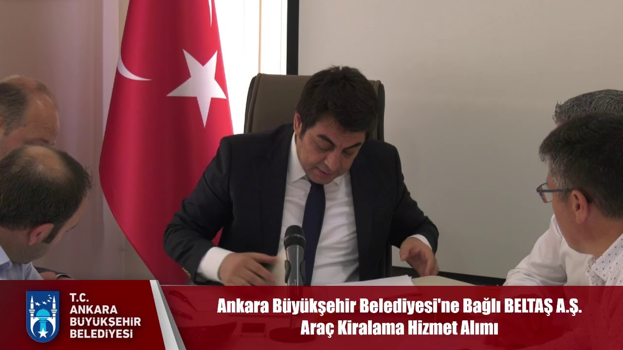 Ankara Büyükşehir Belediyesi'ne Bağlı BELTAŞ A.Ş. Araç Kiralama Hizmet Alımı
