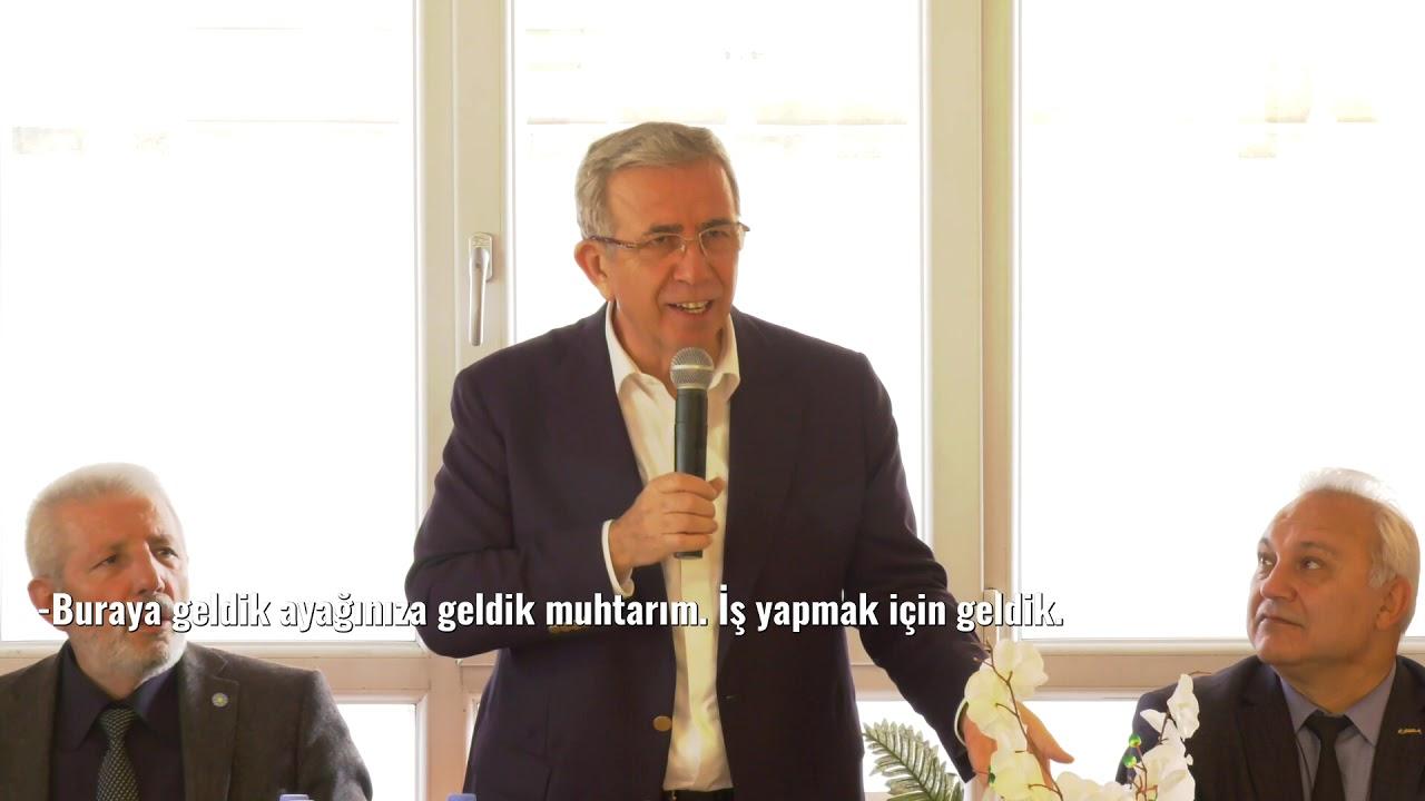 BAŞKANIMIZ YAVAŞ YENİKENT'DE MUHTARLARLA BULUŞTU