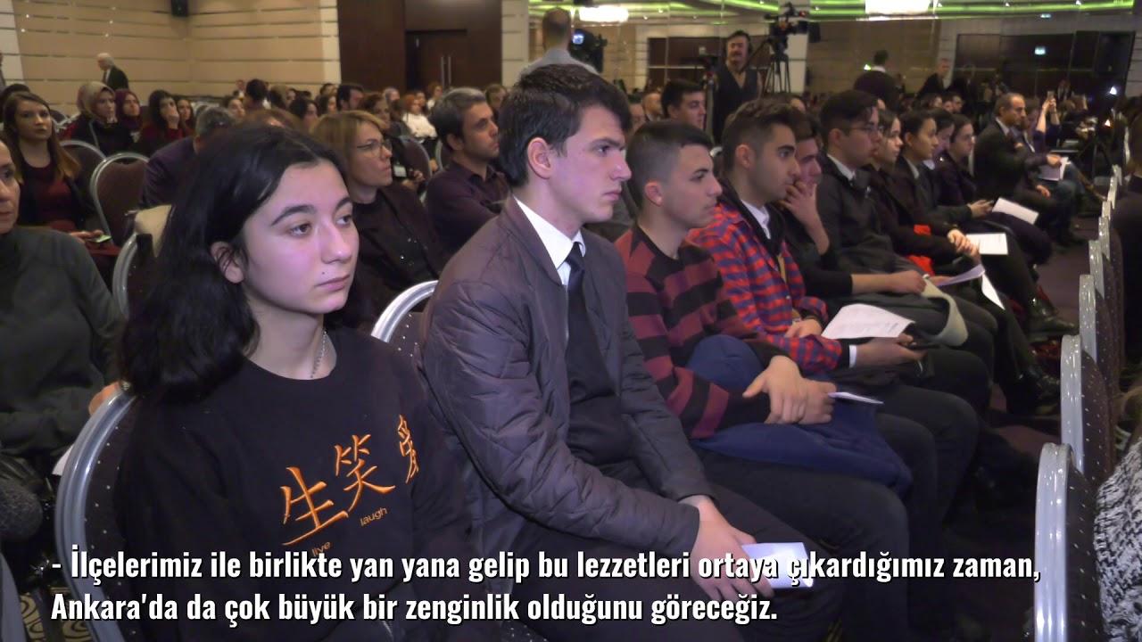 BAŞKANIMIZ MANSUR YAVAŞ 8. BİLKENT TURİZM FORUMU'NA KATILDI