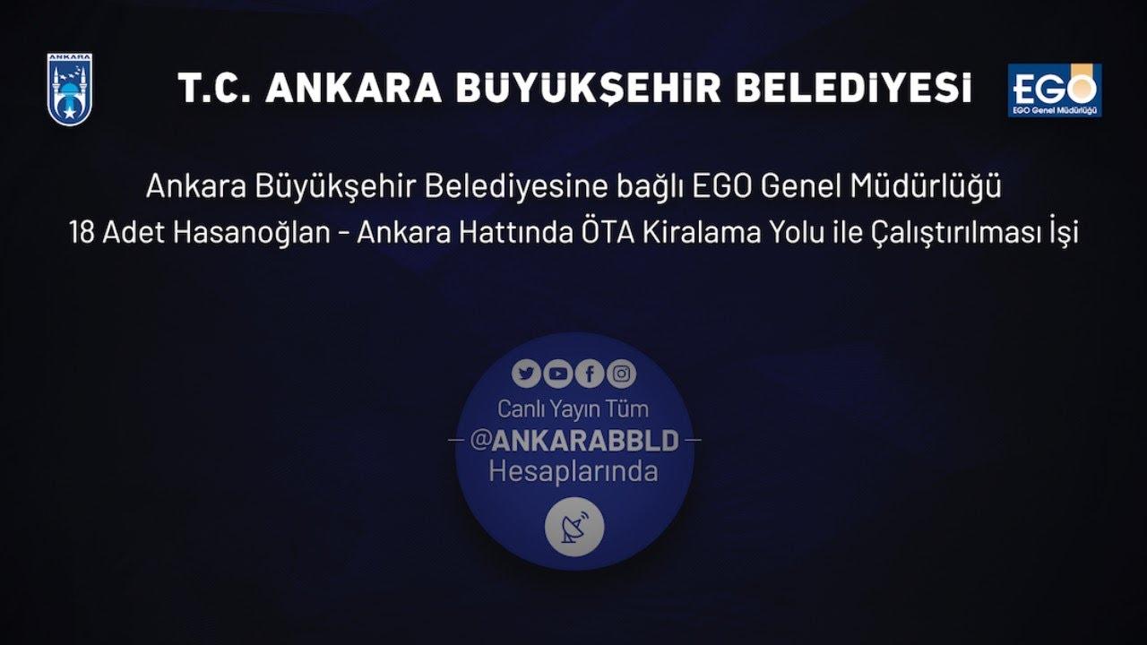 EGO Genel Müdürlüğü Hasanoğlan - Ankara Hattında ÖTA Kiralama İşi