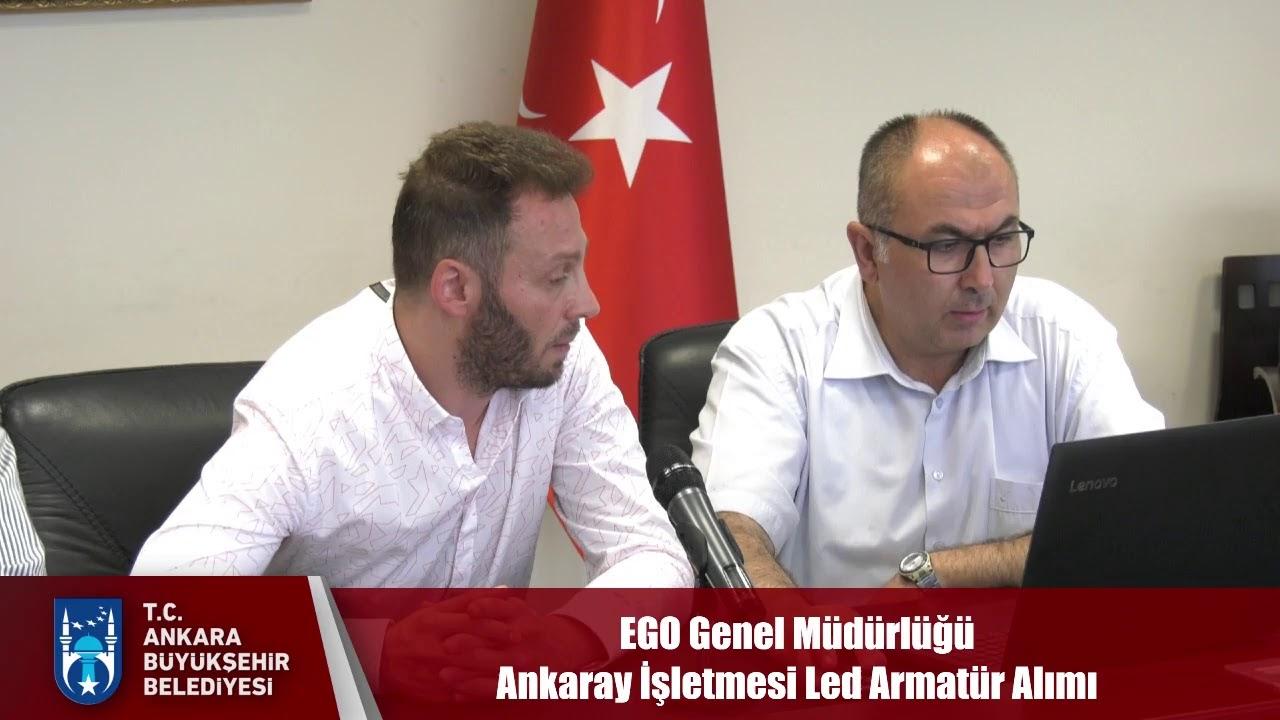 EGO Genel Müdürlüğü Ankaray İşletmesi Led Armatür Alımı