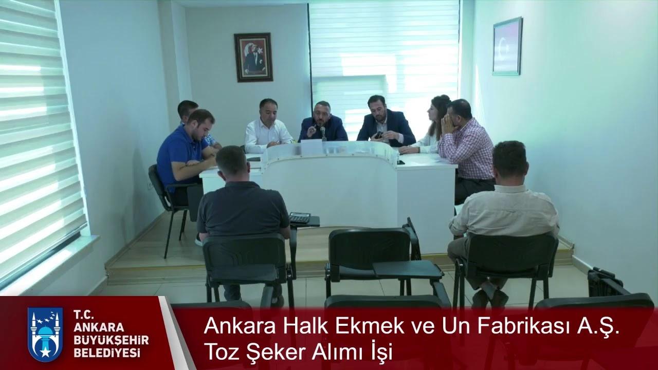 Ankara Halk Ekmek ve Un Fabrikası A.Ş. Toz Şeker Alımı İşi