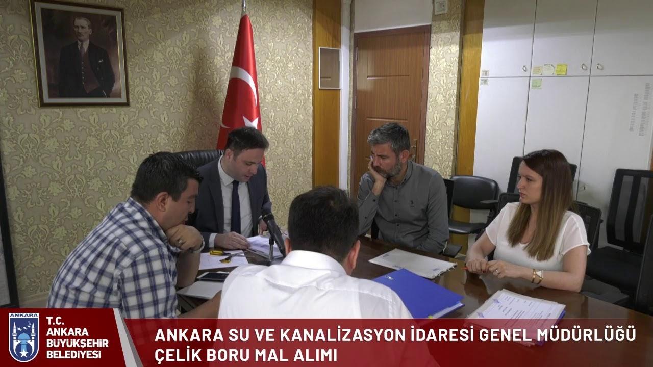 Ankara Büyükşehir Belediyesi Aski Genel Müdürlüğü Çelik Boru Alımı