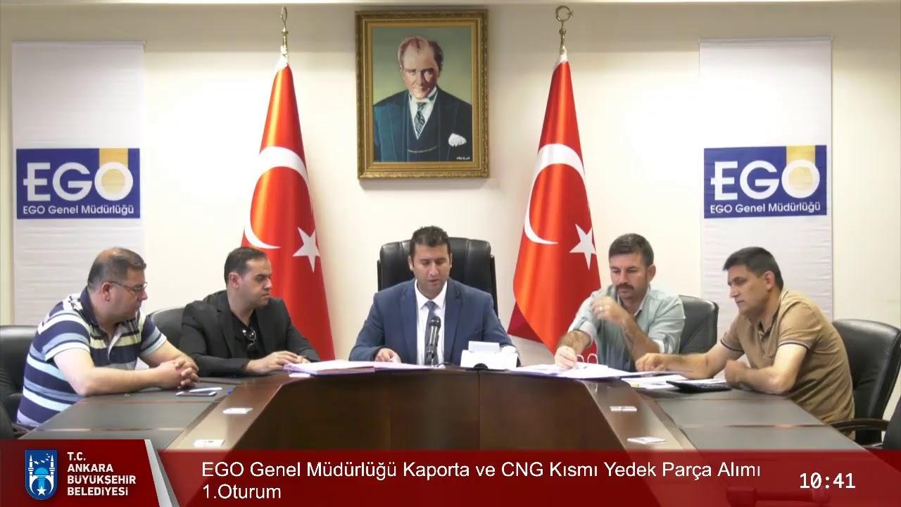 EGO Genel Müdürlüğü Kaporta ve CNG Kısmı Yedek Parça Alımıı