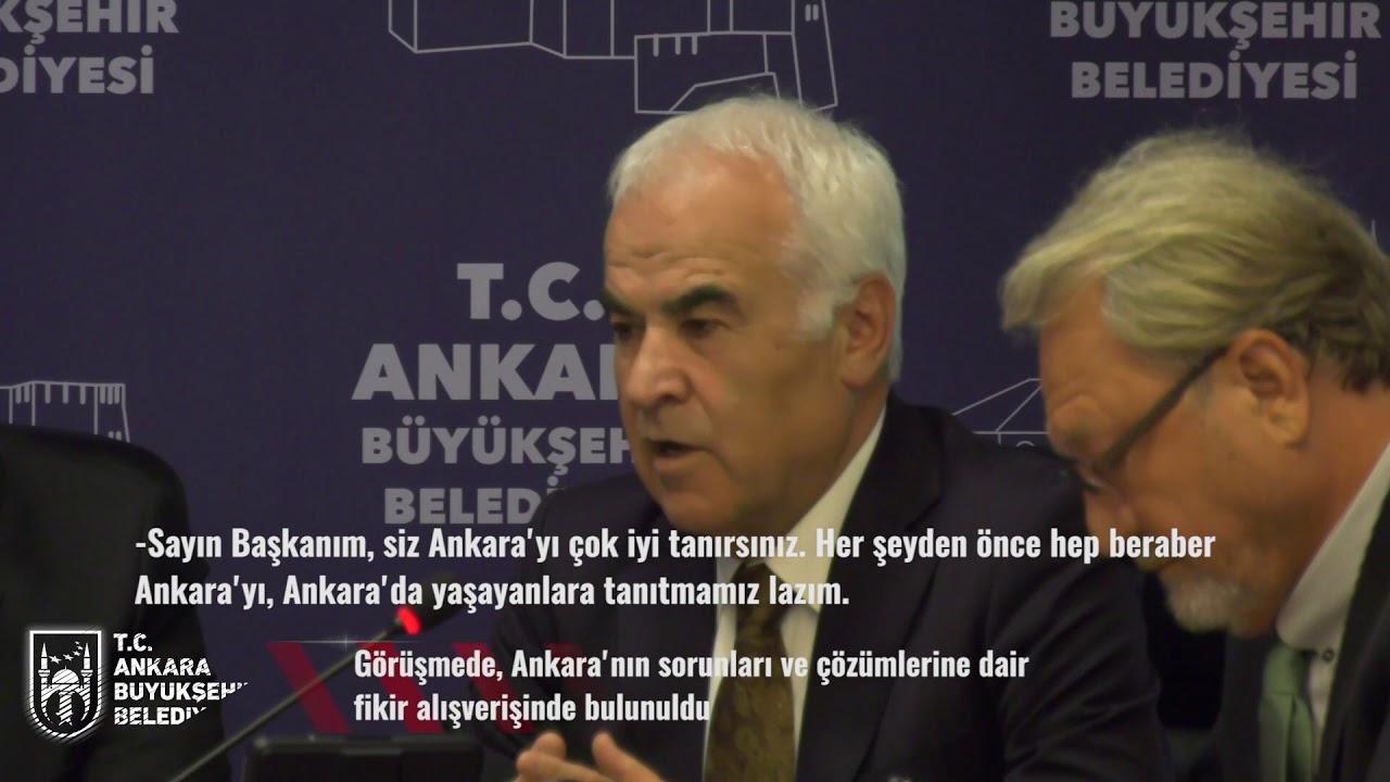 BAŞKENT ANKARA MECLİSİ'NDEN BAŞKAN YAVAŞ'A ZİYARET