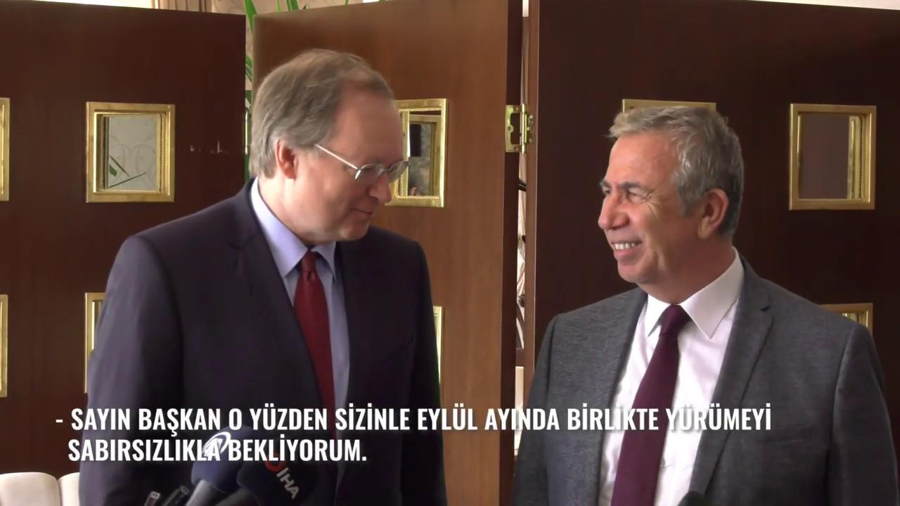 AB Büyükelçisi ve Türkiye Delegasyon Başkanı