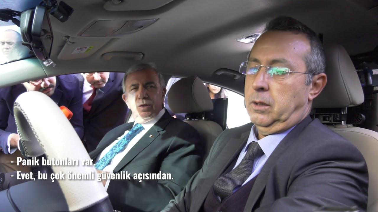 BAŞKAN YAVAŞ BİR SÖZÜNÜ DAHA TUTUYOR ''AKILLI TAKSİ PROJESİ''