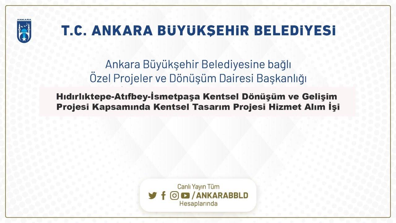 Hıdırlıktepe-Atıfbey-İsmetpaşa KDGP Kentsel Tasarım Projesi Hizmet Alım İşi