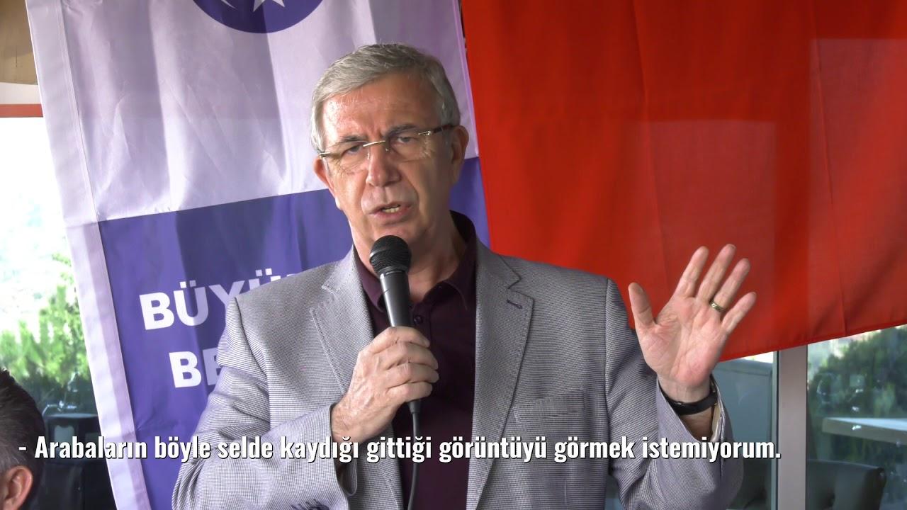 Büyükşehir Belediye Başkanımız Sn. Mansur YAVAŞ Mamaklı Muhtarla Bir Araya Geldi