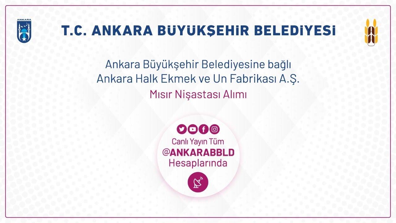 Ankara Halk Ekmek ve Un Fabrikası A.Ş. Mısır Nişastası Alımı