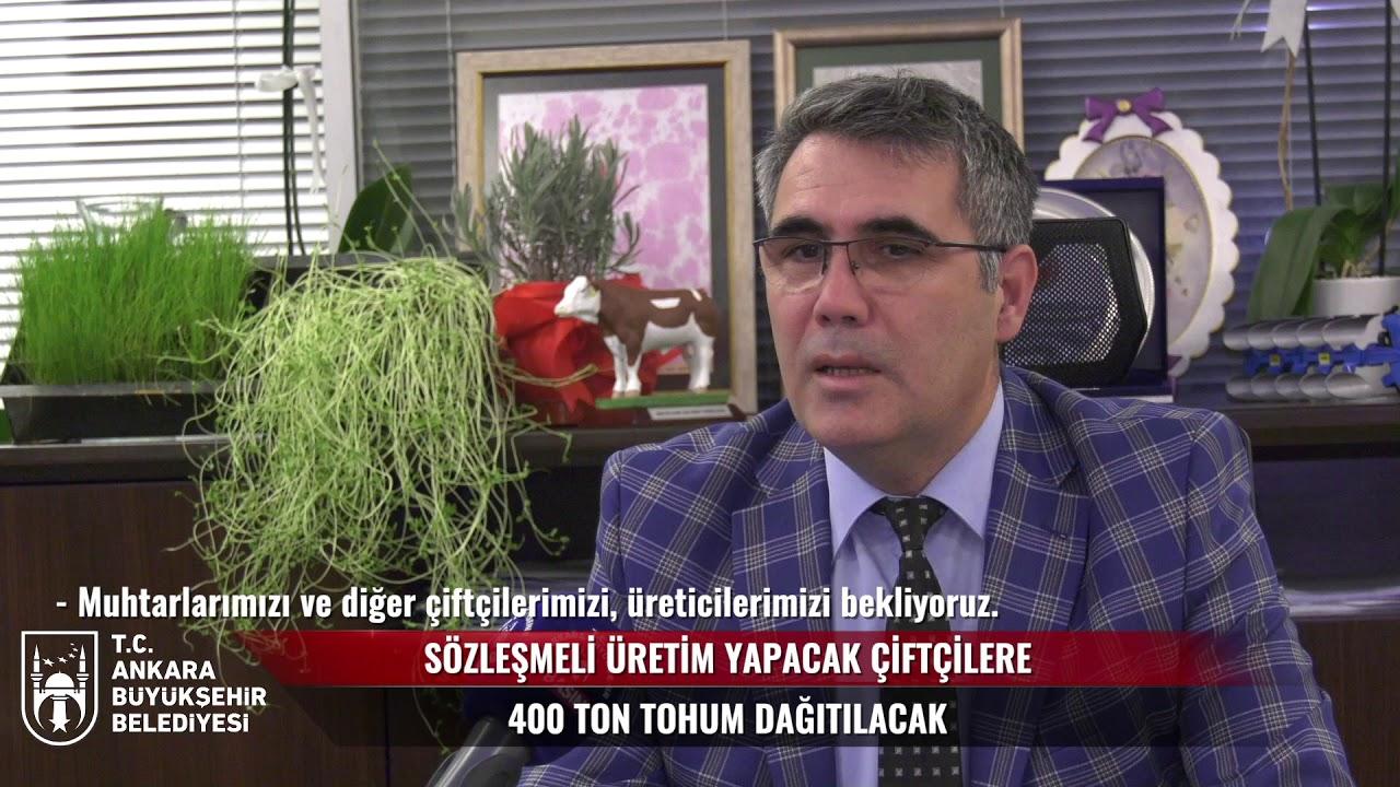 BAŞKENT'DE ÜRETİCİYE TARIM DESTEĞİ