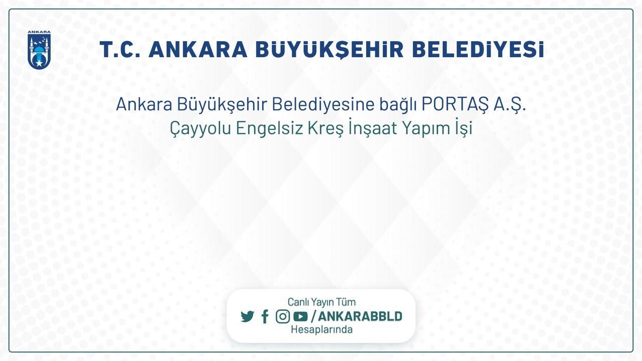 PORTAŞ A.Ş. Çayyolu Engelsiz Kreş İnşaat Yapım İşi