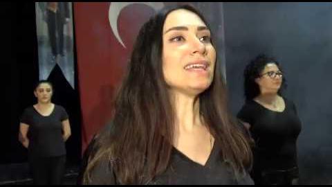 """Sanatın aydınlık yüzü Büyükşehir Belediyesi Başkent Tiyatroları """"Atatürk'ün Gençliğe Hitabesi"""""""