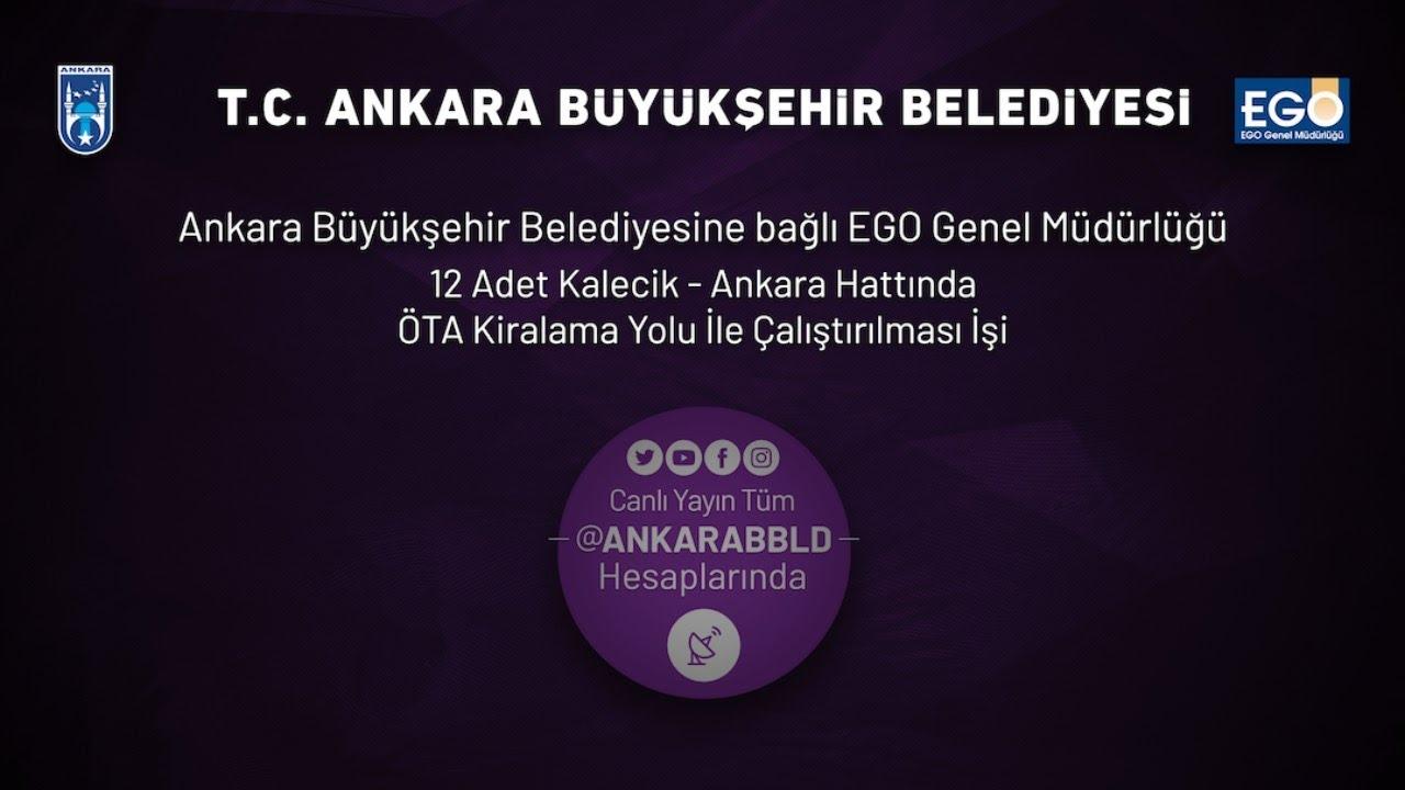 EGO Genel Müdürlüğü Kalecik - Ankara Hattında ÖTA Kiralama İşi