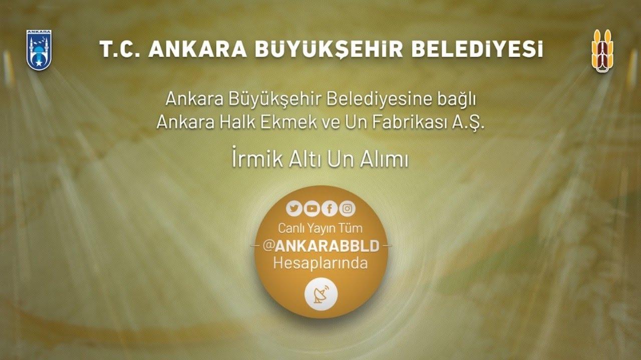 Ankara Halk Ekmek ve Un Fabrikası A.Ş. İrmik Altı Un Alımı