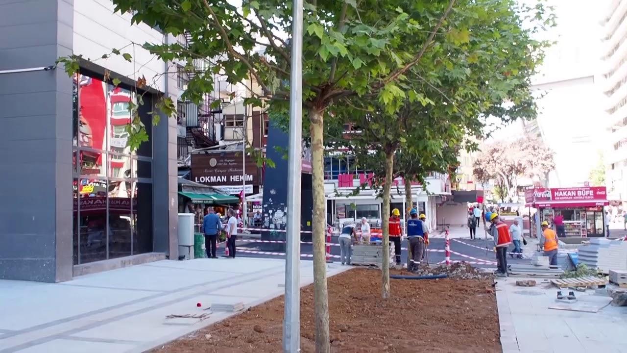 Sakarya Caddesi 2.Etap çalışmaları tamamlandı