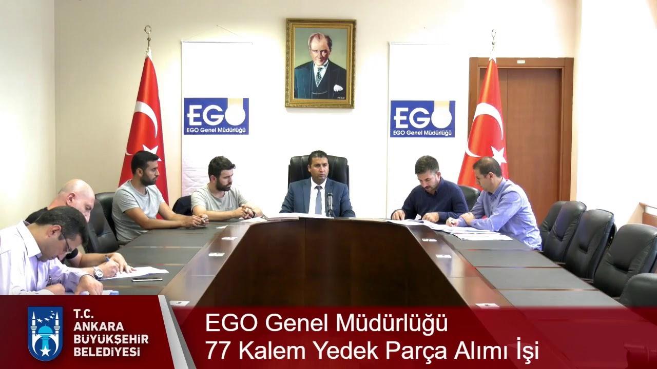 Ankara Büyükşehir Belediyesi-EGO Genel Müdürlüğü  77 Kalem Yedek Parça Alımı İşi