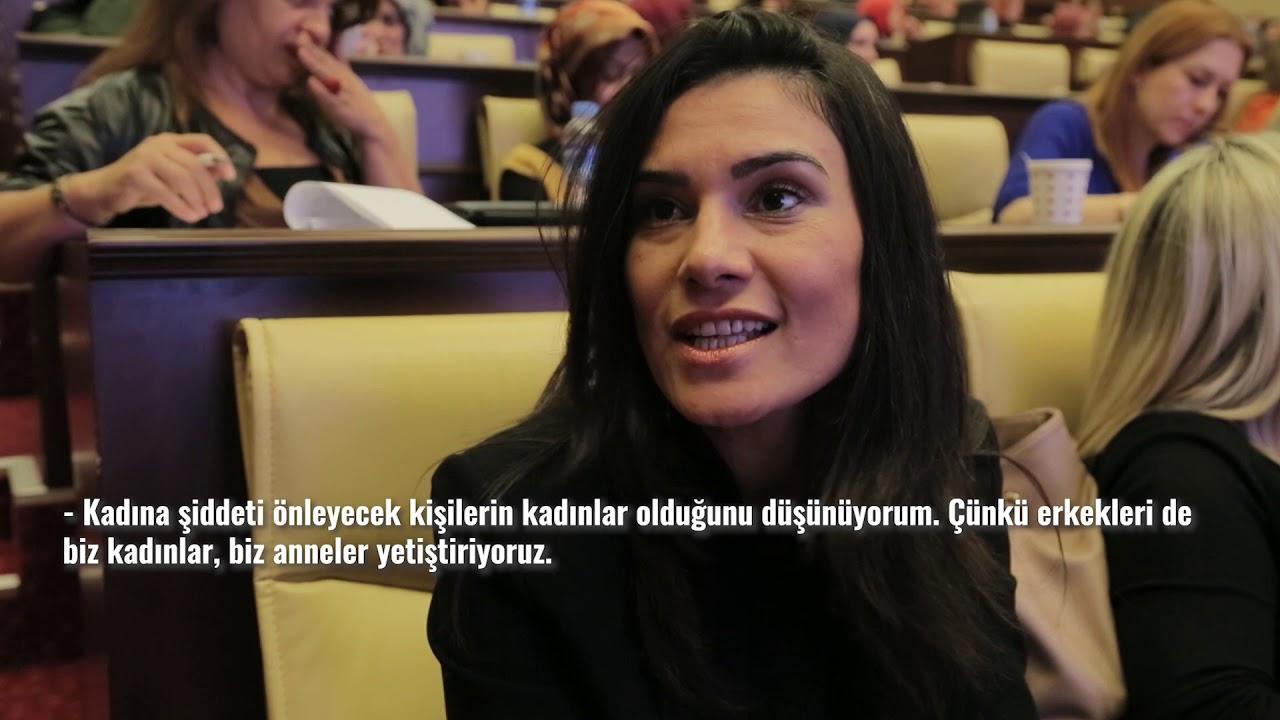 BÜYÜKŞEHİR'DEN 'KADINA ŞİDDETLE MÜCADELE' EĞİTİMİ