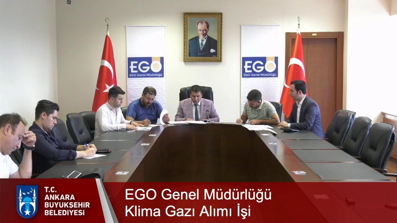 EGO Genel Müdürlüğü Klima Gazı Alımı İşi