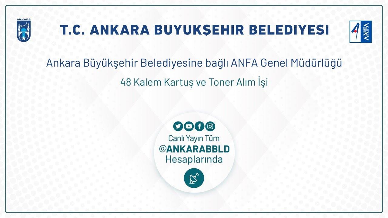 ANFA Genel Müdürlüğü 48 Kalem Kartuş ve Toner Alım İşi