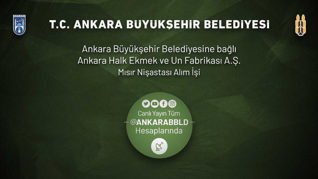Ankara Halk Ekmek ve Un Fabrikası Mısır A.Ş. Nişastası Alım İşi