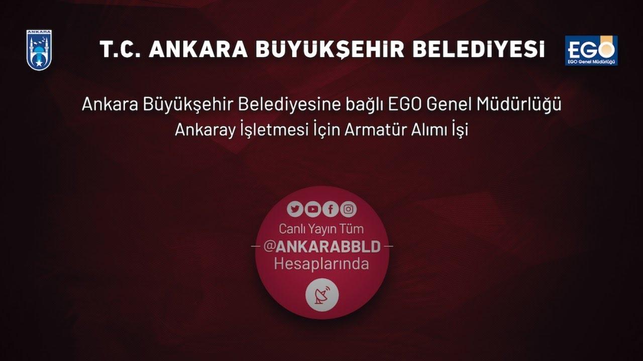 EGO Genel Müdürlüğü Ankaray İşletmesi İçin Armatür Alımı İşi