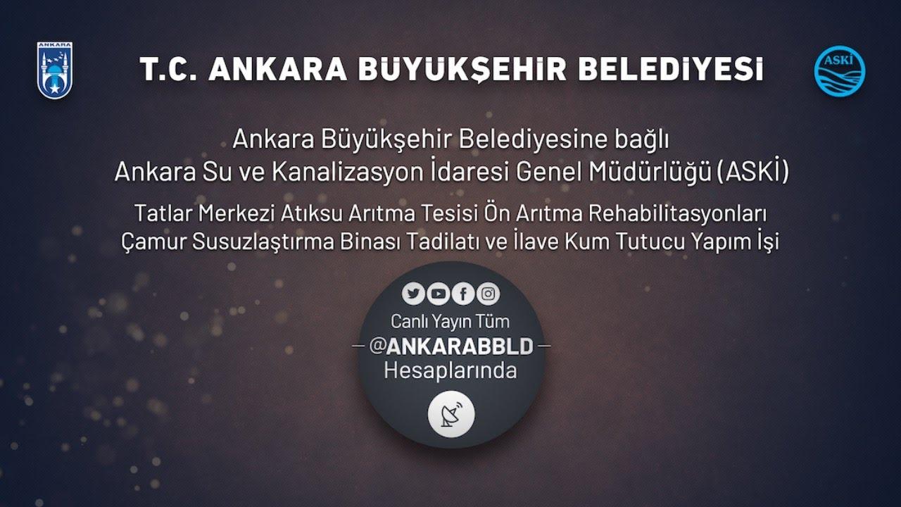 ASKİ Genel Müdürlüğü Atıksu Arıtma Tesisi, Binası Tadilat ve İlave Kum Tutucu Yapım İşi