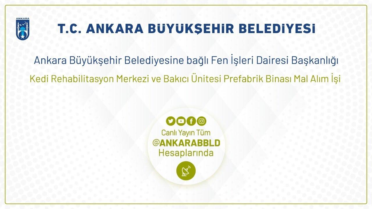 Fen İşleri Dairesi Kedi Rehabilitasyon Merkezi ve Bakıcı Ünitesi Prefabrik Binası Mal Alım İşi