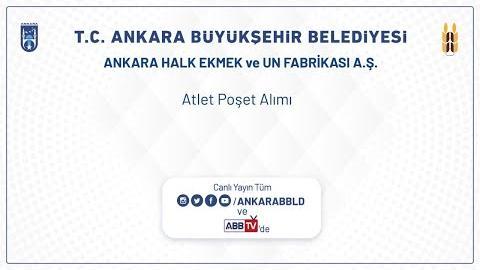 Ankara Halk Ekmek ve Un Fabrikası A.Ş. Atlet Poşet Alımı
