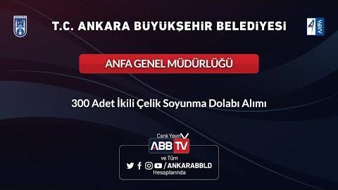 ANFA Genel Müdürlüğü 300 Adet İkili Çelik Soyunma Dolabı Alımı