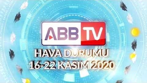 ANKARA HAFTALIK HAVA DURUMU - 16/22 KASIM 2020