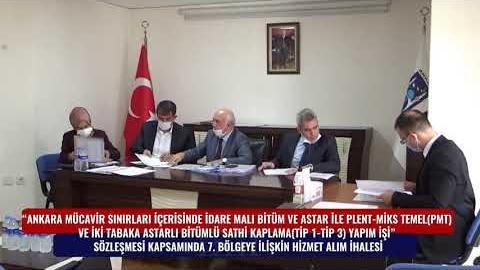 BELKO - SATHİ KAPLAMA 7. BÖLGE HİZMET ALIM İHALESİ