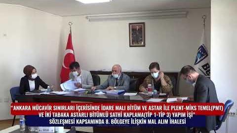 BELKO - SATHİ KAPLAMA 8. BÖLGE MAL ALIM İHALESİ