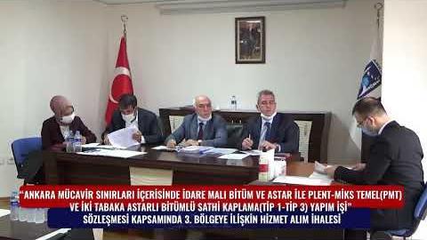 BELKO - SATHİ KAPLAMA 3. BÖLGE HİZMET ALIM İHALESİ