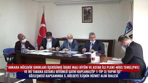 BELKO  - SATHİ KAPLAMA 5. BÖLGE HİZMET ALIM İHALESİ