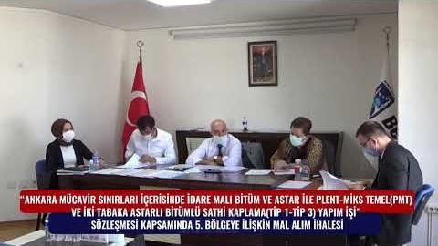 BELKO - SATHİ KAPLAMA 5. BÖLGE MAL ALIM İHALESİ