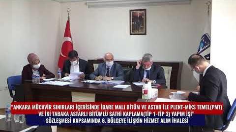 BELKO - SATHİ KAPLAMA 6. BÖLGE HİZMET ALIM İHALESİ