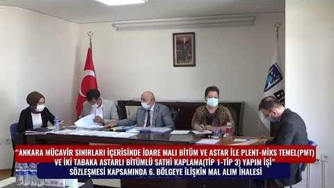 BELKO - SATHİ KAPLAMA 6. BÖLGE MAL ALIM İHALESİ