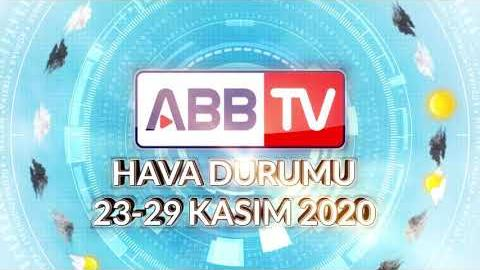 ANKARA HAFTALIK HAVA DURUMU - 23/29 KASIM 2020