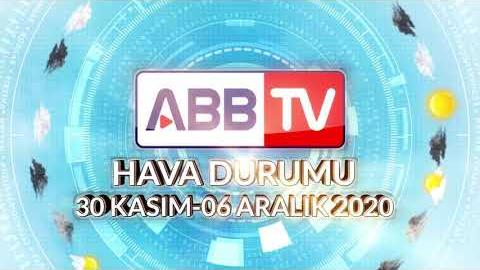 ANKARA HAFTALIK HAVA DURUMU - 30 KASIM / 06 ARALIK 2020