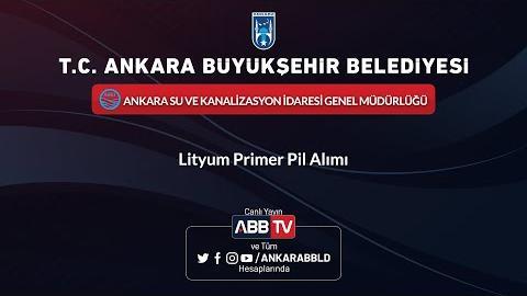 ASKİ - Lityum Primer Pil Alımı