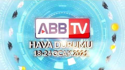 ANKARA HAFTALIK HAVA DURUMU - 18/24 OCAK 2021