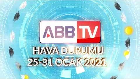 ANKARA HAFTALIK HAVA DURUMU - 25/31 OCAK 2021