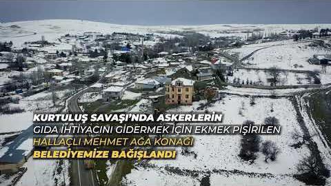 """BİR TARİHİ DEVRALIYORUZ """"HALLAÇLI MEHMET AĞA KONAĞI"""""""