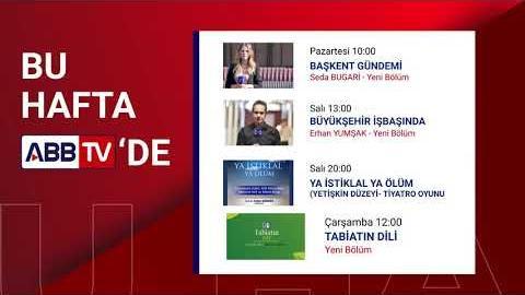 ABB TV'DE BU HAFTA