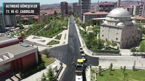 Ankara'nın Dört Bir Yanında Asfalt Çalışmalarımızı Sürdürüyoruz #Büyükşehirİşbaşında